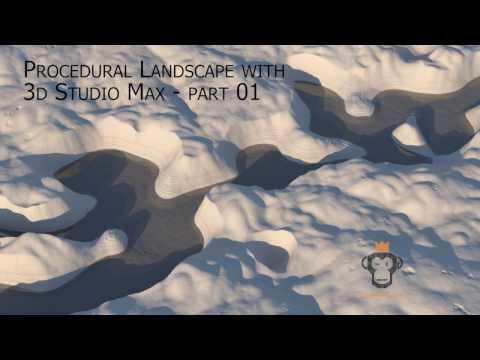 Procedural Landscape with 3ds Max