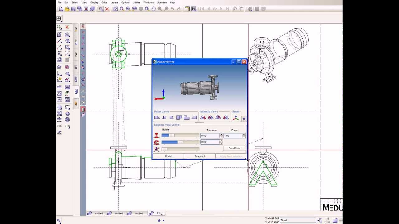 DWG/DXF: Open and edit DWG and DXF with freeware