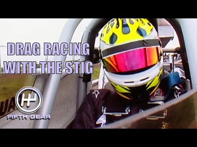 Drag Racing with the Stig | Fifth Gear Classic