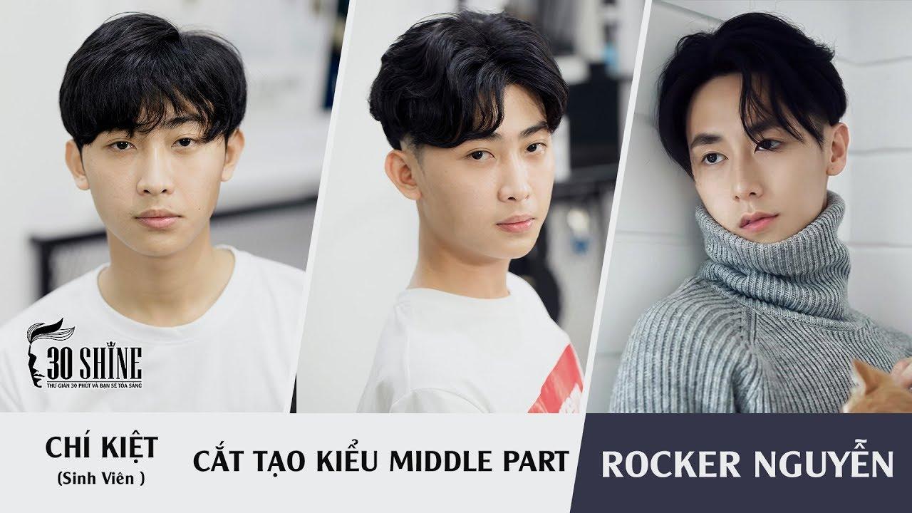 30Shine TV | Cắt Tạo kiểu Middle Part phong cách Rocker Nguyễn | Chí Kiệt