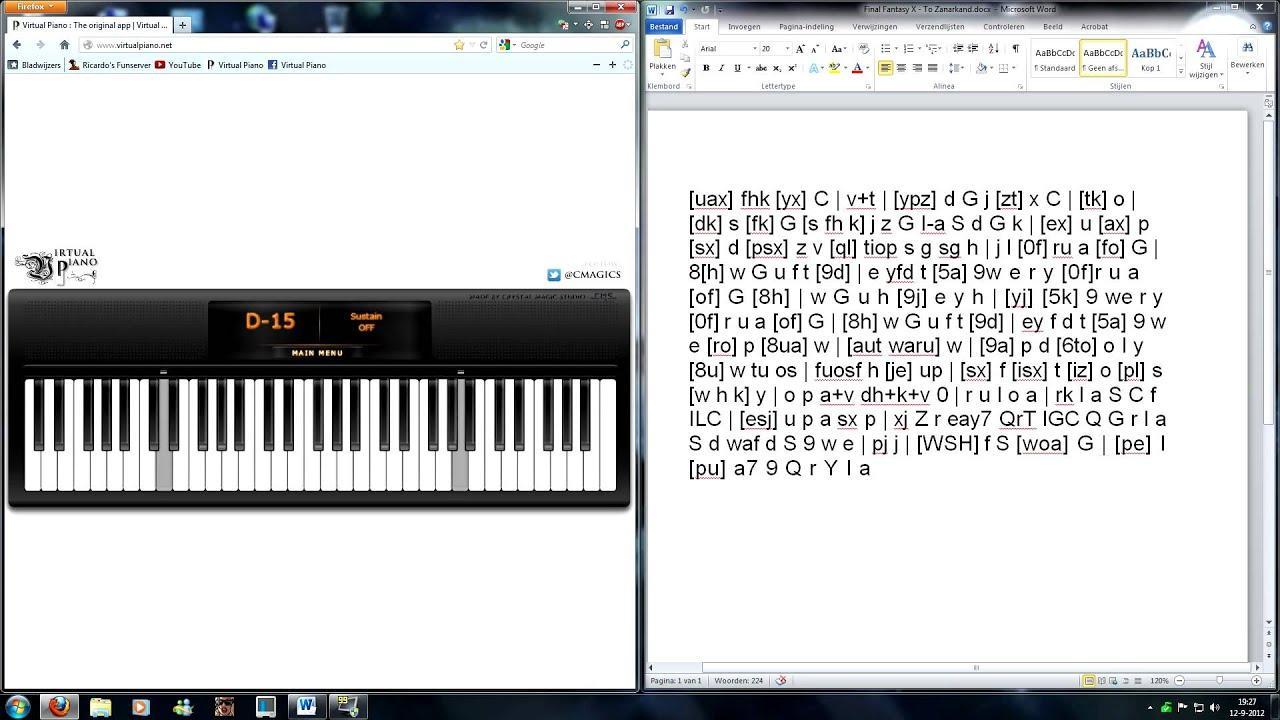 Virtual Keyboard Piano
