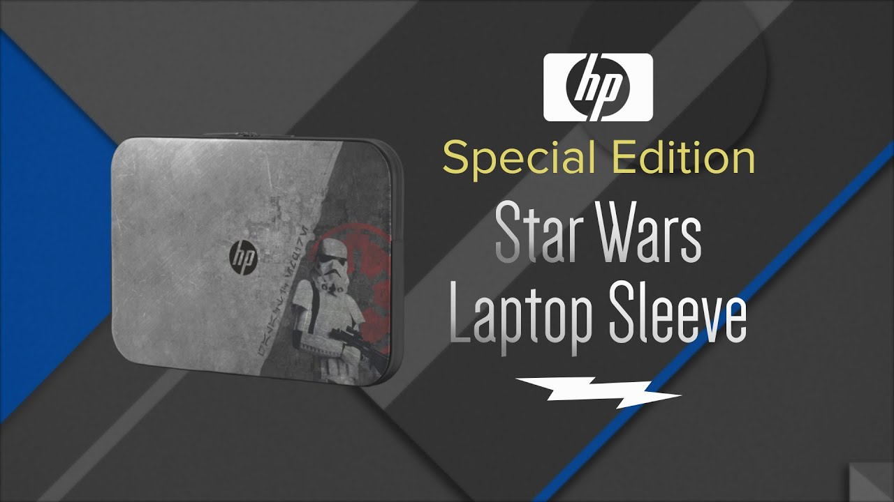 6c1943fc69a HP Star Wars Special Edition 15.6 Laptop Protective Padded Sleeve  P3S09AAABC - Overview