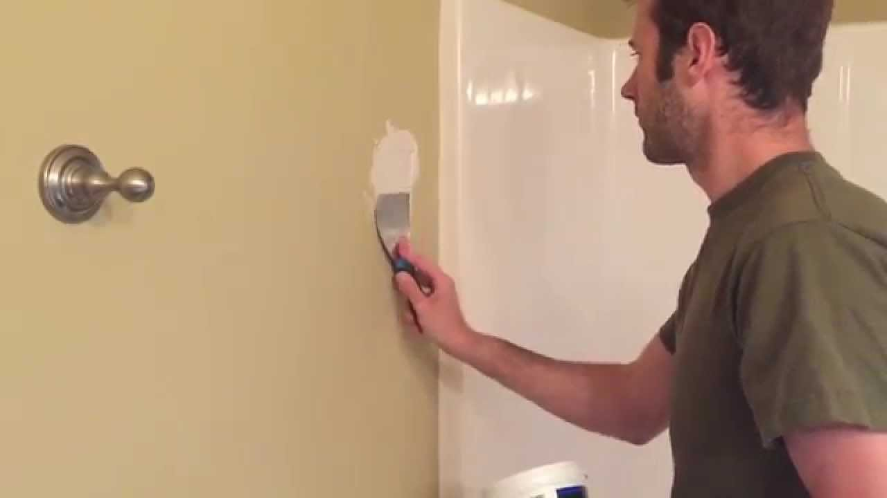 How To Repair A Hole In Drywall Wall