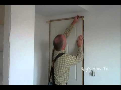 Installing A Prehung Door And Jamb Youtube