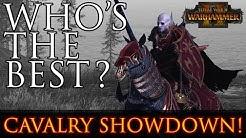 Who's the BEST? - Cavalry Units Showdown Warhammer 2