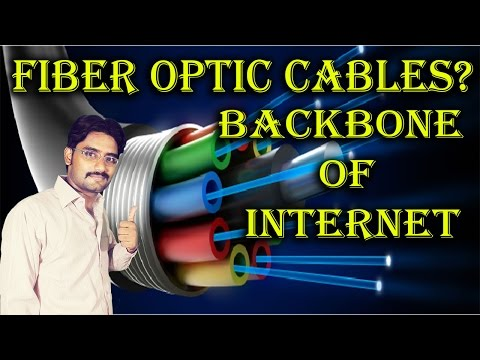 Fiber Optic Cables? Backbone Of Internet | Fastest Communication Network Explained In [Hindi/Urdu]