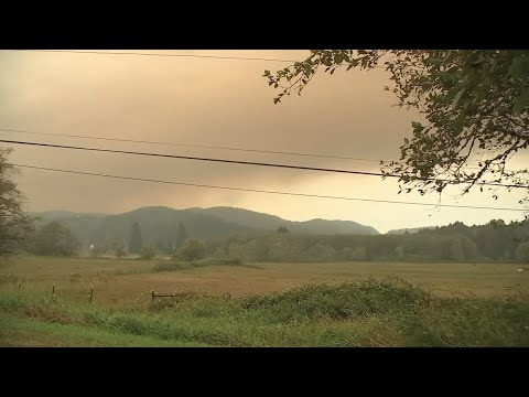 State Of Emergency Declared In Lincoln County Due To Multiple Wildfires Near Oregon Coast