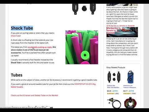 Must have jet ski accessories - StevenInSales.com