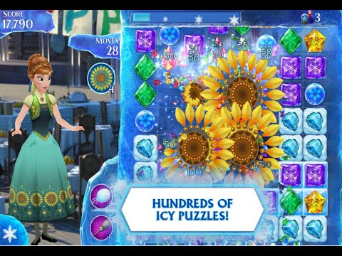Disney Frozen Elsa Anna Free Fall Puzzle For Free  Android Game