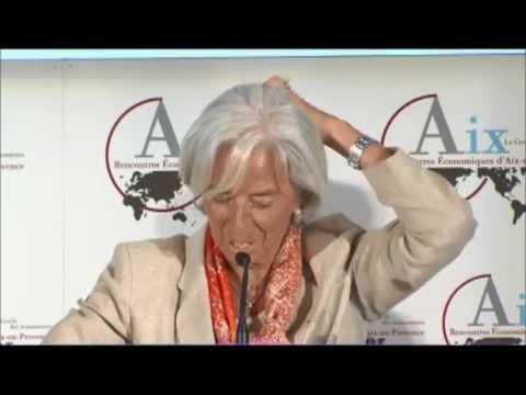 C. Lagarde, P-A de Chalendar, M. ITOH, A. TURNER : Politique économique et  long terme ! Aix2013