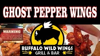 Buffalo Wild Wings Ghost Pepper Wings & Afterburn | Freakeating In Apple Valley