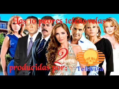 Las 10 peores telenovelas de Televisa 2