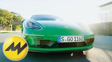 Mark Webber fährt Porsche 718 Cayman GTS 4.0 warm I Motorvision