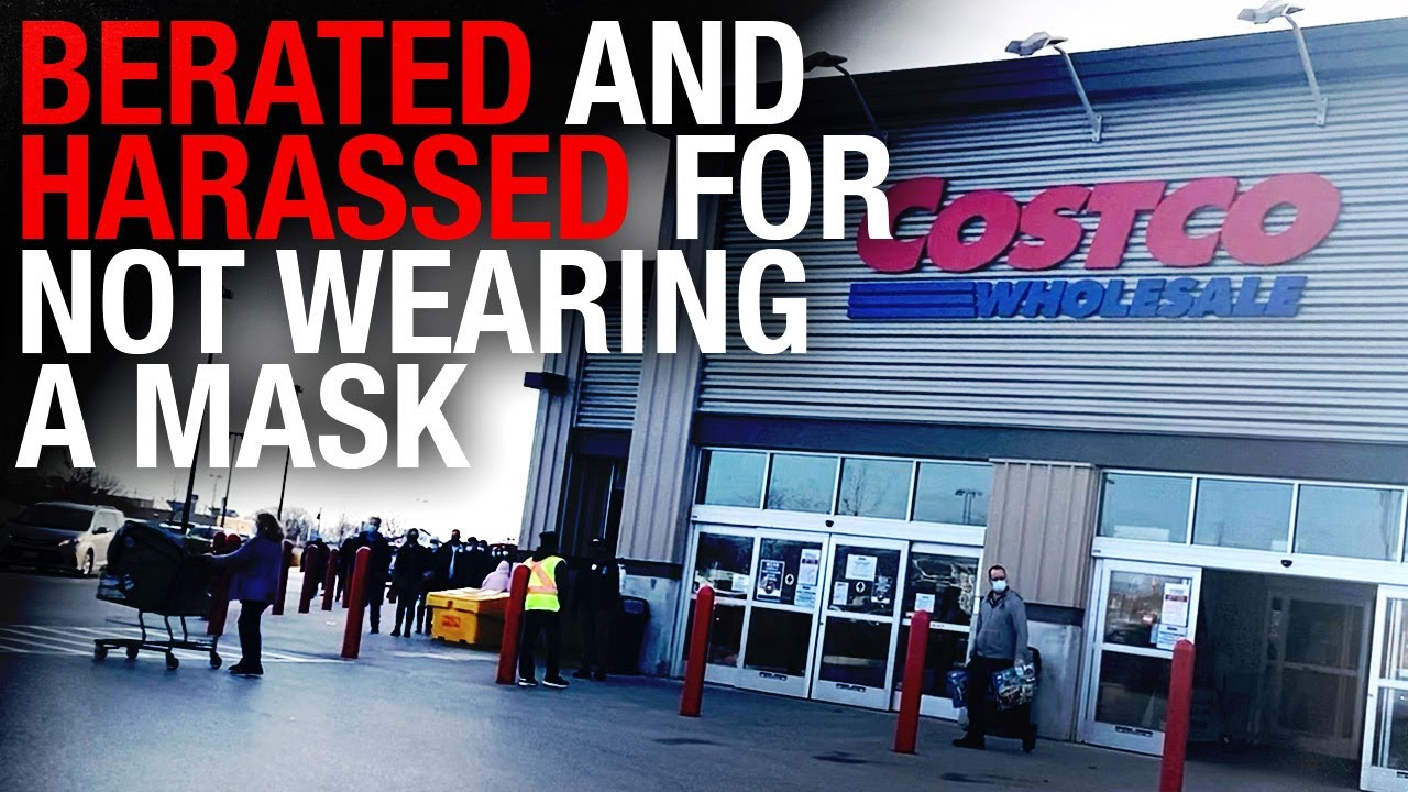 Costco pharmacy client KICKED OUT — medical mask exemption not good enough for staff