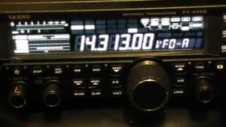 VE7KFM, 14.313, 2013