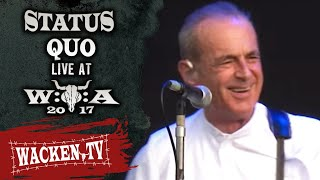 Status Quo - 2 Songs - Live at Wacken Open Air 2017