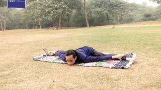 tejasvi kumar sharma a yoga expert who was afflicted by polio at a young age