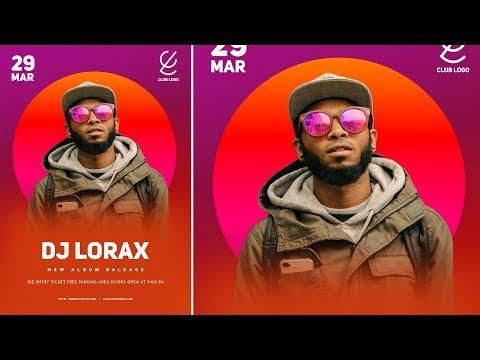 Photoshop Tutorial - DJ Advertising Poster Design