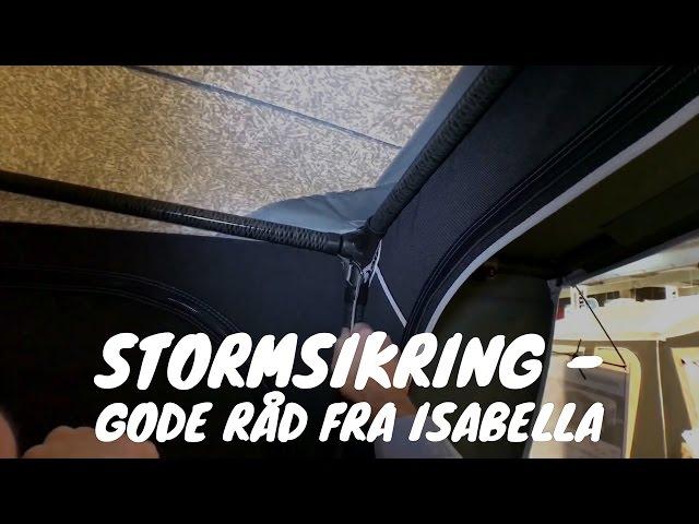 Stormsikring - Gode råd fra Isabella