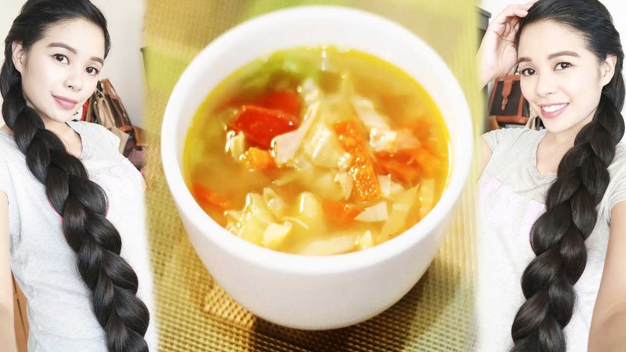 Cabbage Soup Diet Recipe For Weight Loss Hair Growth Beautyklove Youtube