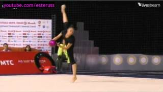 Margarita Mamun Training Ball - World Cup Minsk 2014