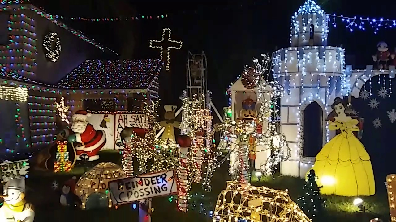 Best christmas lights inland empire - YouTube