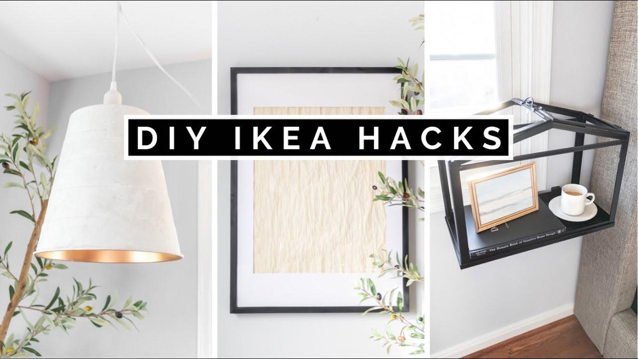 DIY IKEA HACKS ON A BUDGET | AFFORDABLE & EASY HOME DECOR 2021