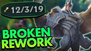 NEW GALIO needs to be NERFED!! (REWORKED GALIO JUNGLE GAMEPLAY) - PBE League of Legends Commentary