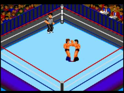Pc-Engine -Fire Pro Wrestling 2 - 2nd Bout .flv