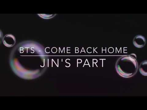 (1 hour loop) BTS - COME BACK HOME: JIN'S PART