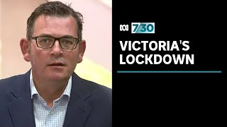 Leigh Sales asks Daniel Andrews questions about Victoria's lockdown | 7.30