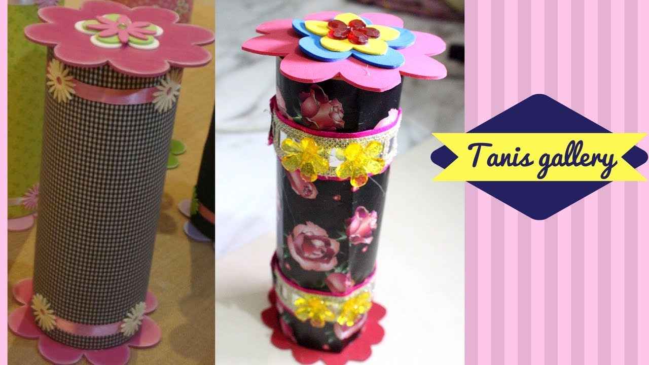 Diy Jewellery Box With Pringles Can