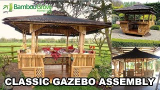 Classic Bamboo Gazebo Assembly
