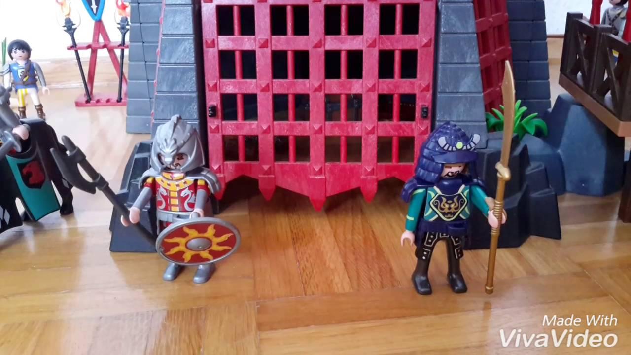 playmobil römer befreien cleopatra aus der drachenburg