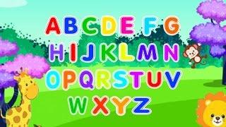 English Alphabet for kids. Song // Песенка английский алфавит для малышей.
