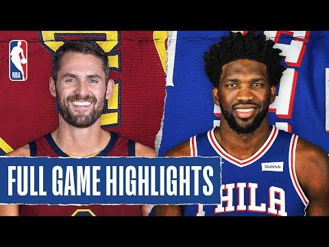 The Keith Show - CAVALIERS at 76ERS   FULL GAME HIGHLIGHTS   November 12, 2019