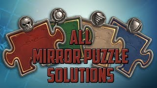 Mirror Puzzle Solutions Hearthstone Puzzle Labs