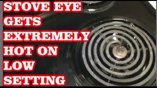 STOVE EYE NOT WORKING RIGHT