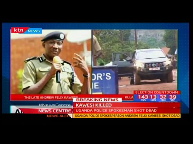 Ugandan police spokesperson ASP Felix Andrew Felix Kaweesi shot dead