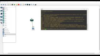 how to connect computer to gns3 router