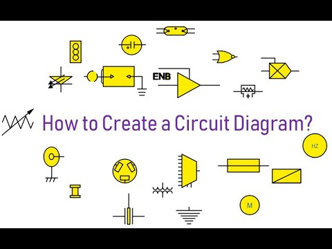 How Create Circuit Diagram with Edraw  YouTube