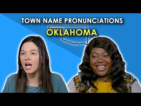 We Tried to Pronounce Oklahoma Town Names