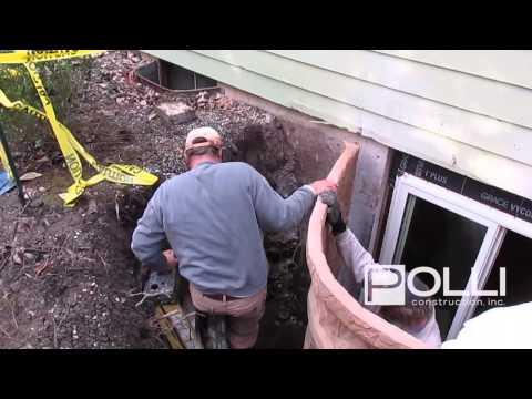 How To Install a Basement Egress Window | Shelburne, Vermont