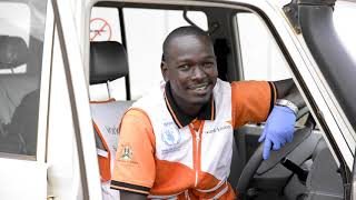 Musa, a World Vision driver explains his role in the fight against COVID-19