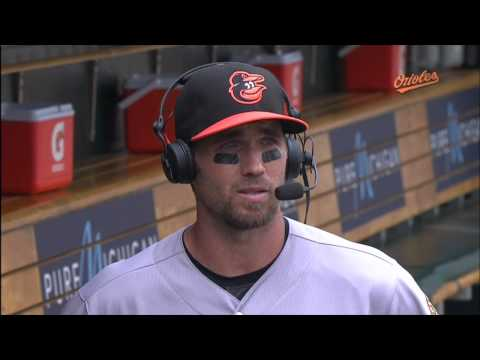 """""""O's Xtra"""" catches up with J.J. Hardy after Sunday's win"""
