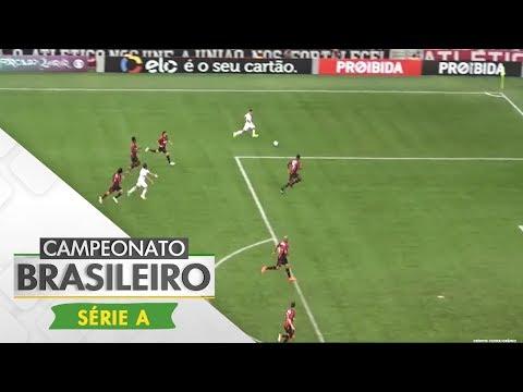 Melhores Momentos - Atlético-PR 4 x 1 Vitória - Campeonato Brasileiro (25/06/2017)