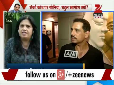 Robert Vadra loses cool over question on Haryana land deals, pushes aside reporter