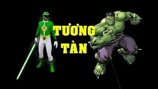GTA 5 Siêu nhân xanh lá và Hulk - Huynh đệ tương tàn (ý tưởng Fan)|GHTG
