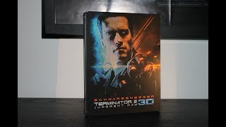 Terminator 2: Judgment Day - 3D Remastered Steelbook Blu-Ray Unboxing