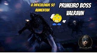 Hellblade Senua's Sacrifice - Gameplay - Parte 3 ( 1ª BOSS VALRAVN )